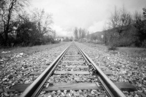 Fotografía estenopeica ferrocarril pinhole Nopo 120